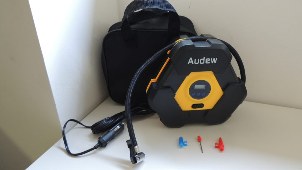 audew mini compresor