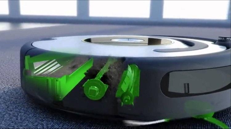 limpiar el robot aspirador