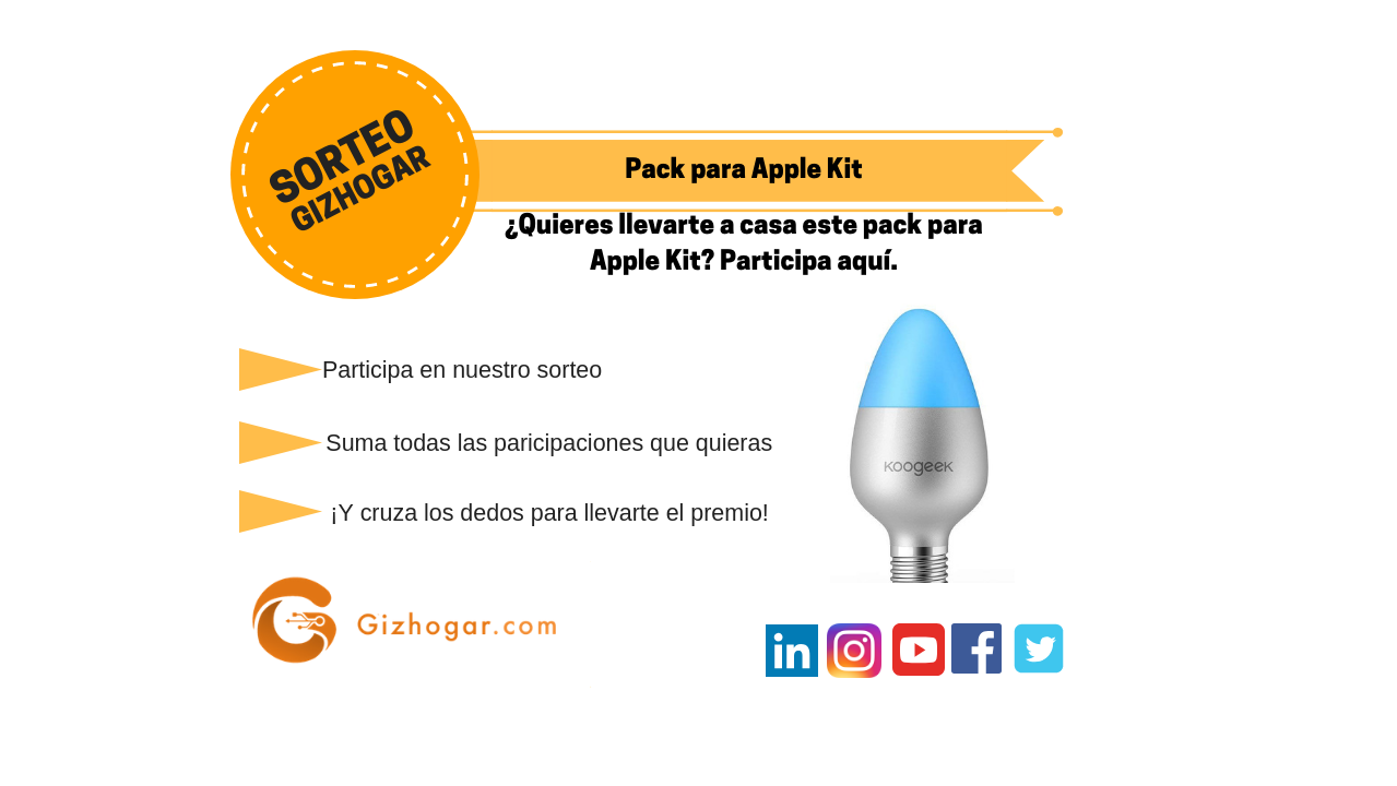 sorteo apple kit