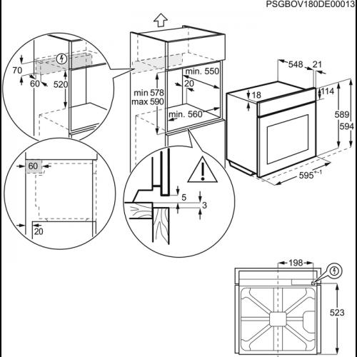 Electrolux EOB2430BOX