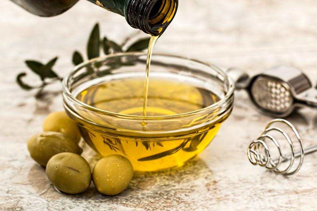Aceite de oliva. Cocinar sin aceite