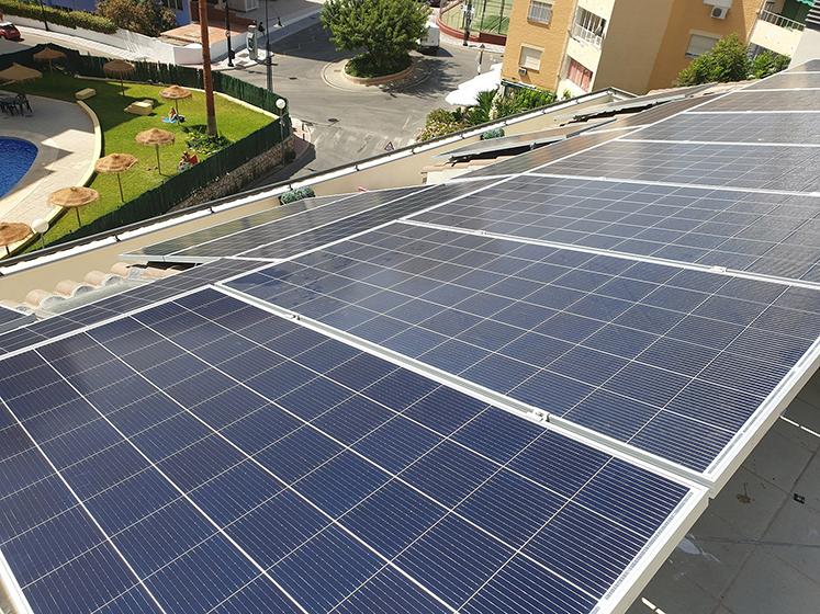 Energía solar en España