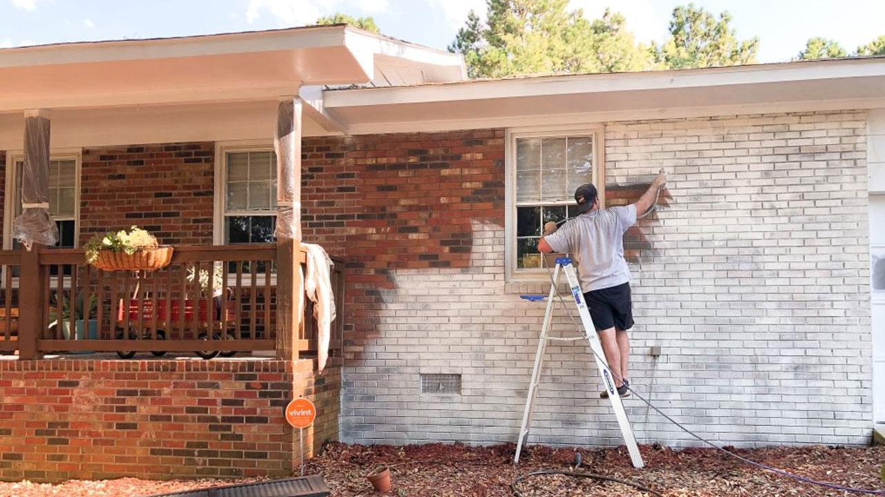 Tips para la reparación y mantenimiento con pintura blanca exterior