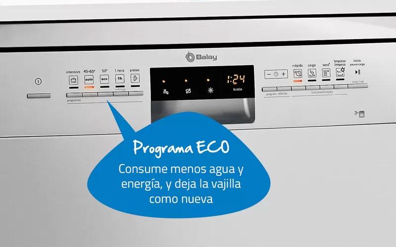 Balay 3VT304NA - Programa Eco