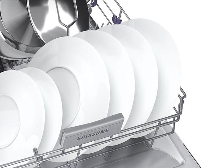 Samsung DW60M6050FW - Media carga