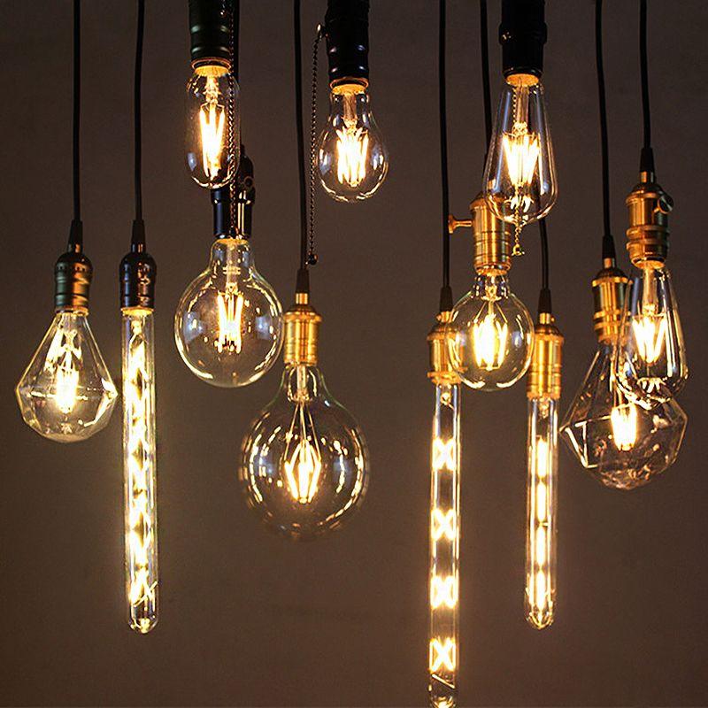 Diferentes bombillos para diferentes lámparas