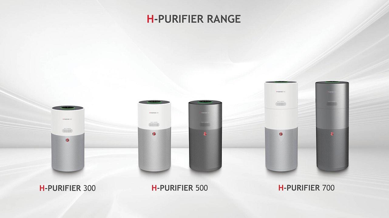 H-PURIFIER 300, H-PURIFIER 500 y H-PURIFIER 700