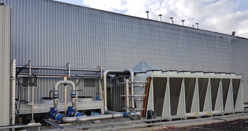 Refrigeración industrial para alimentos