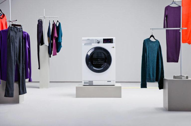 Cómo funciona una lavadora secadora