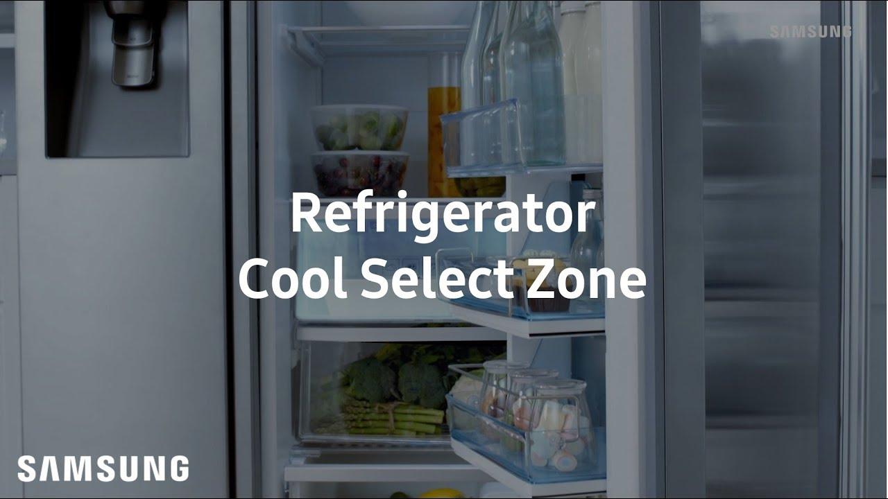 CoolSelect Zone de Samsung