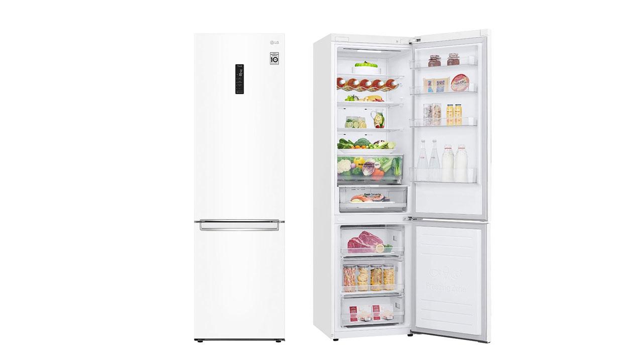 LG GBB62SWFGN, frigorífico combi para el usuario moderno