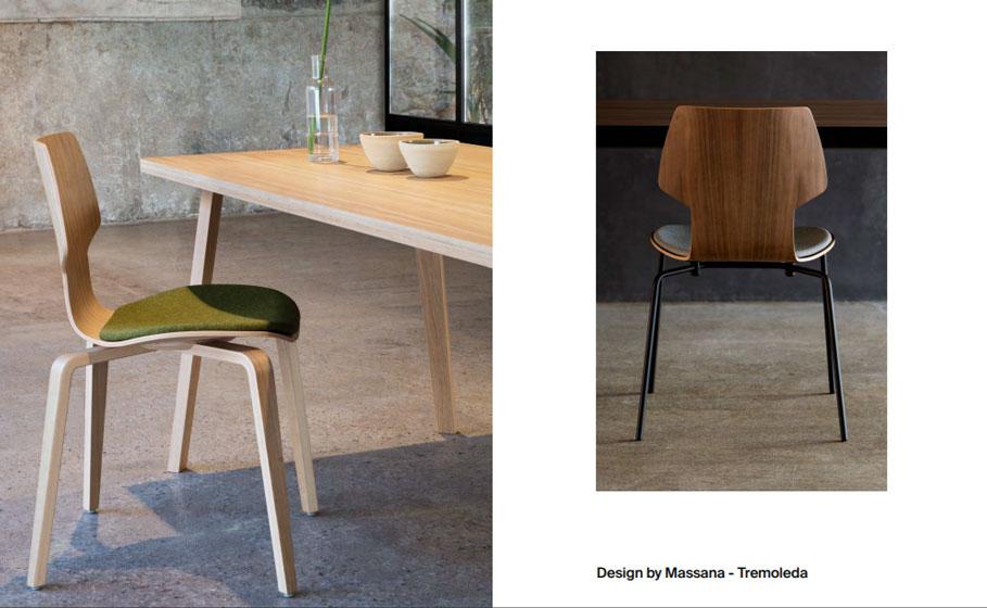 Mobiliario de diseño - Gràcia diseñada por Massana