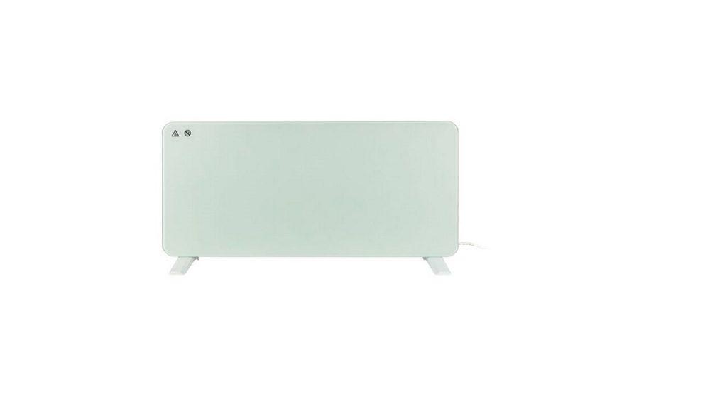 calefactor de vidrio de silvercrest