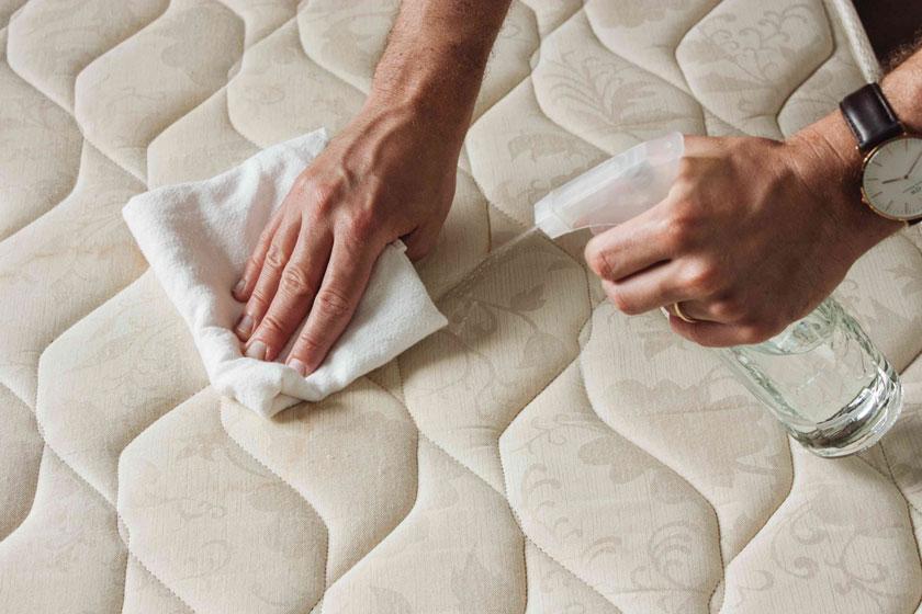 Limpieza del colchón