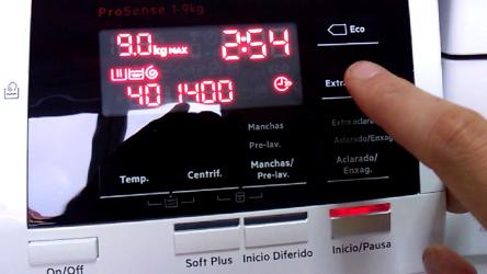 AEG L6FBG944, lavadora con clase A+++ y fácil de usar