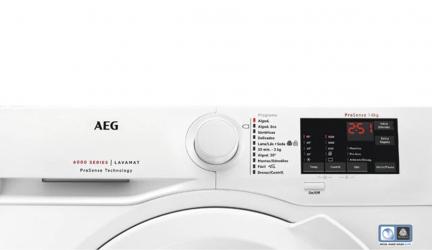 AEG L6FBK821U, lavadora que evita el roce de las prendas.