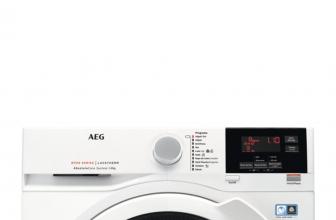 AEG T8DBG861, secadora de bomba de calor eficiente