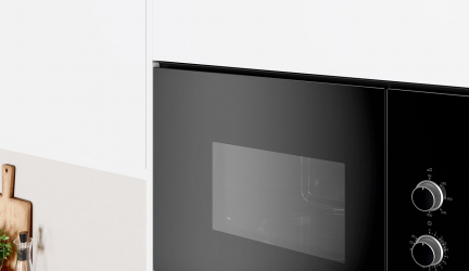 Balay 3CP5002N0, horno microondas negro, elegante y fácil de usar.