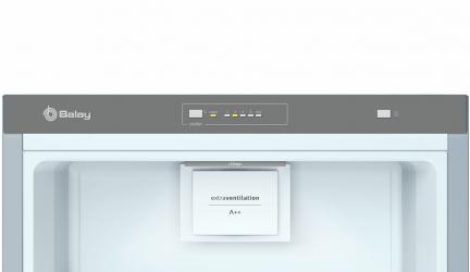 Balay 3FCE642XE, frigorífico de una puerta y elegante diseño.