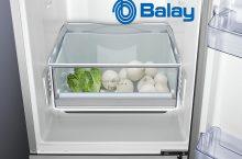 Balay 3KF6610WI, frigorífico combi A++ con iluminación LED
