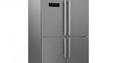 Beko GN1416231ZX, espacioso frigorífico americano multipuertas.
