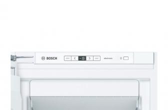 Bosch GIN81AE30, congelador vertical integrable y espacioso