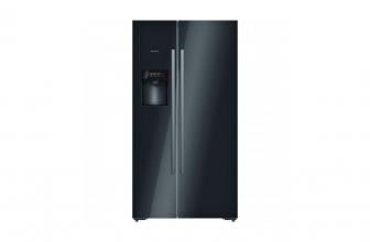 Bosch KAD92SB30, bonito frigorífico americano en color negro