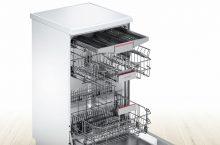 Bosch SMS46MW08E, lavavajillas de libre instalación con HigienePlus