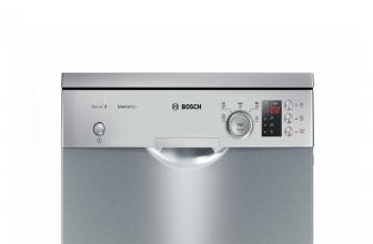 Bosch SPS25CI05E, lavavajillas en acero inoxidable de 10 cubiertos