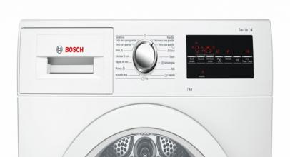 Bosch WTG86262ES, secadora de condensación blanca