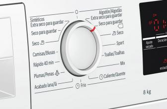 Bosch WTG87229ES, una gran secadora con bomba de calor.