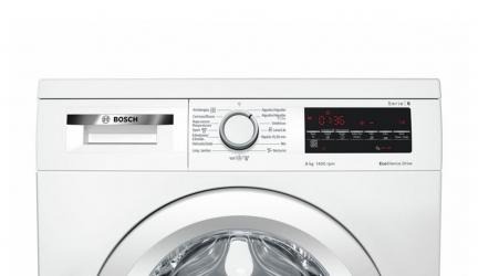 Bosch WUQ28467ES, lavadora que te ayuda a ahorrar agua y energía