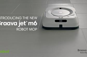 Braava Jet M6, el robot que pasa la mopa y friega en tu hogar