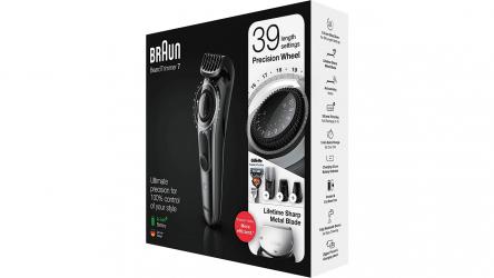 Braun BT7240, interesante recortadora de barba y cortapelo
