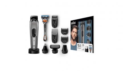 Braun MGK7021, un buen set de afeitado para diferentes zonas corporales