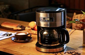 Cafetera Aicok, dos modelos, dos formas de preparar café.