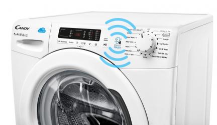 Candy CSS 1482D3-S, lavadora con tecnología NFC para más funciones