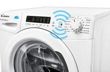 Candy CSS 1482D3-S, lavadora con tecnología NFC para descargar más funciones