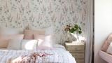 Cómo decorar el dormitorio con papeles pintados de diseño