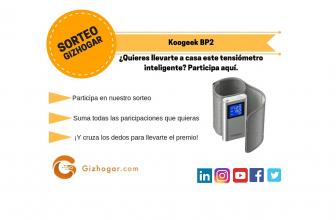 SORTEO: Koogeek BP2, tensiómetro inteligente para Android [FINALIZADO]