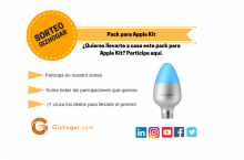 SORTEO: Pack accesorios compatibles con Apple Kit para el hogar [FINALIZADO]