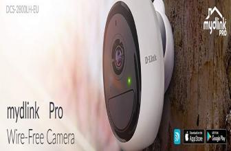 D-Link DCS-2800LH-EU, cámara wifi inalámbrica para interior y exterior