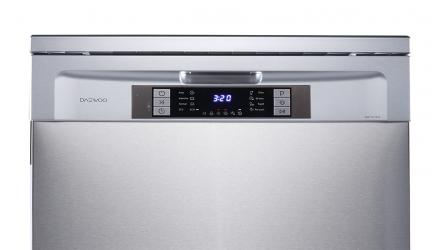 Daewoo DDW-MQ1214S, lavavajilla inox fácil de utilizar
