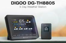 Digoo DG-TH8805, estación meteorológica USB al aire libre.