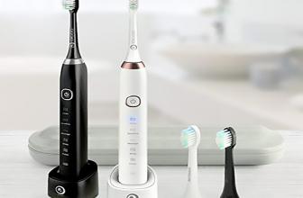 Digoo DG-YS11, cepillo eléctrico sónico con 5 modos de limpieza.