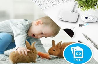 EZVIZ Ezcube Pro, cámara de vigilancia ideal para bebés y mascotas.