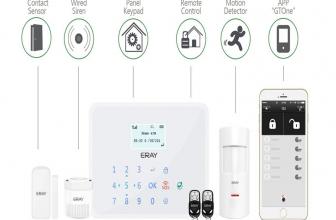 Eray GT1, sistema de alarma GSM/SMS en color blanco