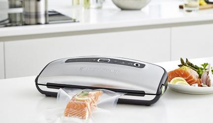 Foodsaver FFS015X, sencillo sistema de envasado al vacío.