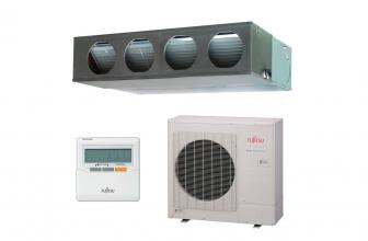 Fujitsu ACY100UIA-LM, buen aire acondicionado por conductos.