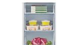 Hisense RB438N4GX3, un frigorífico combi con diseño en cristal blanco